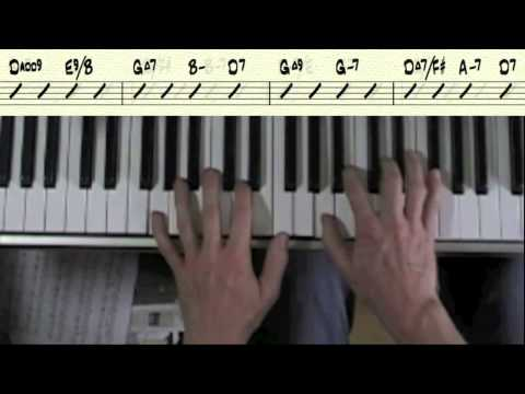 Easy Piano Accompaniment for Just The Way You Are (A section Only) by Billy Joel
